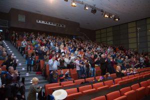 Vielen Dank an unser großartiges Publikum! Ihr wart spitze! — – hier: Audimax TU Braunschweig.